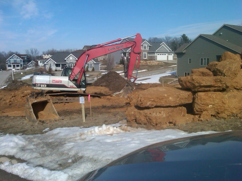 Photo of Excavation and Grading in the winter