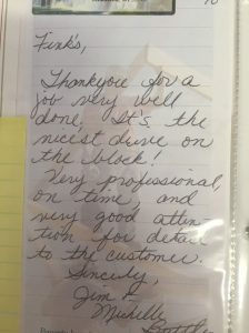 thank you letter from happy customer